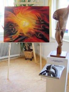 Skulptur von Raoul Ratnowsky